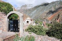 Το ινδικό νεκροταφείο Iruya στοκ φωτογραφίες