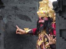 Το ινδονησιακό άτομο είναι βασιλιάς Στοκ Εικόνα
