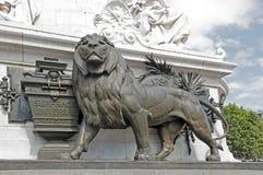 Το λιοντάρι και η καθολική ψήφος (1848 Στοκ εικόνες με δικαίωμα ελεύθερης χρήσης