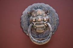 Το λιοντάρι χαλκού Στοκ Φωτογραφίες