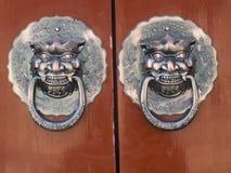 Το λιοντάρι χαλκού Στοκ εικόνα με δικαίωμα ελεύθερης χρήσης
