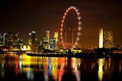 Το ιπτάμενο Σινγκαπούρης Στοκ φωτογραφία με δικαίωμα ελεύθερης χρήσης