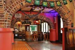 Το ιρλανδικό μπαρ σπιτιών αχθοφόρων Στοκ Φωτογραφία