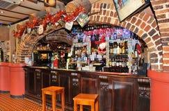 Το ιρλανδικό μπαρ σπιτιών αχθοφόρων Στοκ φωτογραφία με δικαίωμα ελεύθερης χρήσης