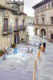 Το ισπανικό χωριό Poble Espanyol είναι στη Βαρκελώνη Στοκ Εικόνα