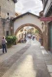 Το ισπανικό χωριό Poble Espanyol είναι στη Βαρκελώνη Στοκ Φωτογραφία