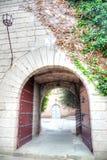 Το ισπανικό χωριό Poble Espanyol είναι στη Βαρκελώνη Στοκ Εικόνες