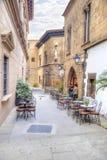 Το ισπανικό χωριό Poble Espanyol είναι στη Βαρκελώνη Στοκ φωτογραφία με δικαίωμα ελεύθερης χρήσης