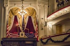 Το ιστορικό θέατρο της Ford ` s, η περιοχή της δολοφονίας Προέδρου Lincoln ` s στοκ φωτογραφίες