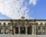 Το ιστορικό κάστρο - Chapultepec Castle Στοκ Εικόνες