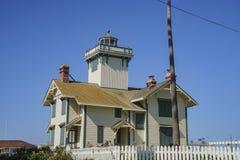 Το ιστορικό σημείο Fermin Lighthouse Στοκ φωτογραφία με δικαίωμα ελεύθερης χρήσης