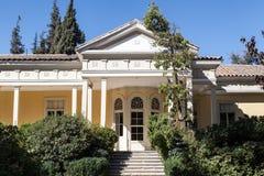 Το ιστορικό σπίτι Σαντιάγο οινοποιιών κάνει τη Χιλή στοκ φωτογραφίες με δικαίωμα ελεύθερης χρήσης