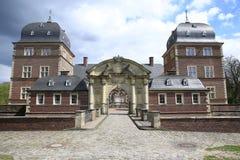Το ιστορικό Castle Ahaus στη Βεστφαλία, Γερμανία Στοκ Φωτογραφία