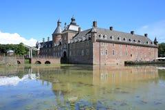 Το ιστορικό Castle Anholt, Γερμανία Στοκ Εικόνες