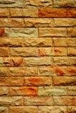 Το ισχυρό brickwall Στοκ Εικόνες