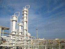 Το διυλιστήριο πετρελαίου Στοκ Φωτογραφία