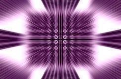 Το ιώδες υπόβαθρο των ευθέων λωρίδων αποκλίνει από τη μέση στις άκρες όμορφο διάνυσμα Στοκ Εικόνες
