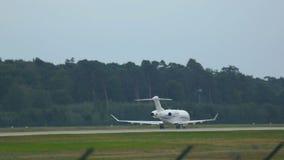 Το ιδιωτικό αεριωθούμενο αεροπλάνο επιταχύνει απόθεμα βίντεο