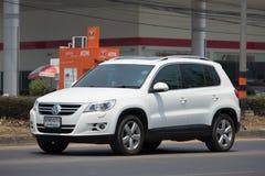 Το ιδιωτικό Volkswagen Tiguan Συμπαγές όχημα διασταυρώσεων ή CUV Στοκ Εικόνα