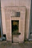 Το κάθισμα του πορθμέας, Λονδίνο, UK Στοκ εικόνα με δικαίωμα ελεύθερης χρήσης