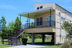 Το κάνετε το σωστό σπίτι στη Νέα Ορλεάνη, Λα μετά από τη Katrina στοκ φωτογραφία με δικαίωμα ελεύθερης χρήσης