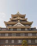 το κάστρο Ιαπωνία κρατά το βασικό Οκαγιάμα η κεντρική είσοδος εδώ ιστορικό ΙΙ Καλιφόρνιας ανασκόπησης Αμερικανών του 1945 του 194 Στοκ φωτογραφία με δικαίωμα ελεύθερης χρήσης