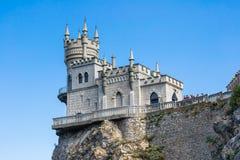 το κάστρο που είναι γνωσ&tau Στοκ Φωτογραφία