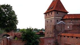 Το κάστρο σε Malbork Στοκ Φωτογραφία