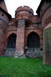 Το κάστρο σε Malbork Στοκ εικόνες με δικαίωμα ελεύθερης χρήσης