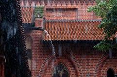 Το κάστρο σε Malbork Στοκ Εικόνα