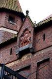 Το κάστρο σε Malbork Στοκ Εικόνες