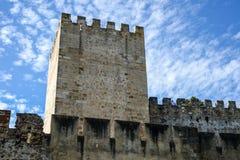 Το κάστρο στην πόλη Evormonte Στοκ εικόνα με δικαίωμα ελεύθερης χρήσης