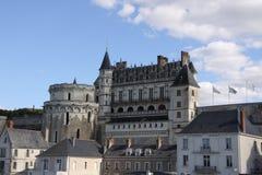 Το κάστρο του Amboise στοκ φωτογραφία