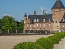 Το κάστρο του anholt στη Γερμανία Στοκ Εικόνες