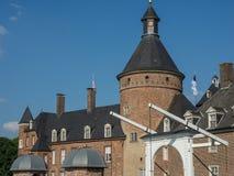 Το κάστρο του anholt στη Γερμανία Στοκ φωτογραφία με δικαίωμα ελεύθερης χρήσης