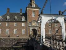 Το κάστρο του anholt στη Γερμανία Στοκ Φωτογραφία