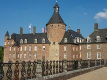 Το κάστρο του anholt στη Γερμανία Στοκ φωτογραφίες με δικαίωμα ελεύθερης χρήσης