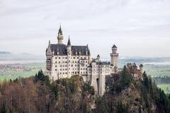 Το κάστρο του neuschwanstein Γερμανία Στοκ Εικόνες