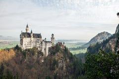 Το κάστρο του neuschwanstein Γερμανία Στοκ εικόνα με δικαίωμα ελεύθερης χρήσης