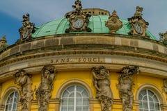 Το κάστρο χωρίς Souci Στοκ φωτογραφία με δικαίωμα ελεύθερης χρήσης