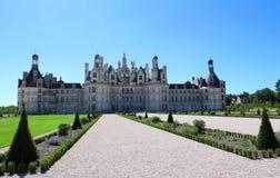 Το κάστρο Chambord στην κοιλάδα της Loire, Γαλλία Χτισμένος το 1519-1547 Στοκ Εικόνα
