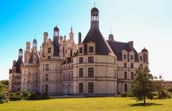 Το κάστρο Chambord στην κοιλάδα Γαλλία της Loire Χτισμένος το 1519-1547 Στοκ εικόνα με δικαίωμα ελεύθερης χρήσης