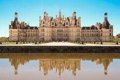 Το κάστρο Chambord στην κοιλάδα Γαλλία της Loire Χτισμένος το 1519-1547 Στοκ Εικόνες