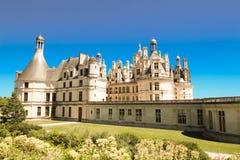 Το κάστρο Chambord στην κοιλάδα Γαλλία της Loire Χτισμένος το 1519-1547 Στοκ φωτογραφία με δικαίωμα ελεύθερης χρήσης