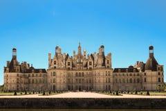 Το κάστρο Chambord στην κοιλάδα Γαλλία της Loire Χτισμένος το 1519-1547 Στοκ Φωτογραφίες