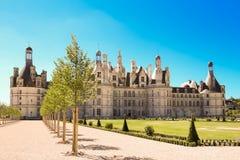 Το κάστρο Chambord στην κοιλάδα Γαλλία της Loire Χτισμένος το 1519-1547 Στοκ φωτογραφίες με δικαίωμα ελεύθερης χρήσης