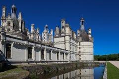 Το κάστρο Chambord στην κοιλάδα της Loire, Γαλλία Χτισμένος το 1519-1547 Στοκ φωτογραφίες με δικαίωμα ελεύθερης χρήσης