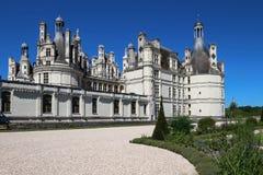 Το κάστρο Chambord στην κοιλάδα της Loire, Γαλλία Χτισμένος το 1519-1547 Στοκ φωτογραφία με δικαίωμα ελεύθερης χρήσης