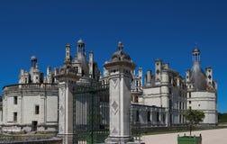 Το κάστρο Chambord στην κοιλάδα της Loire, Γαλλία Χτισμένος το 1519-1547 Στοκ εικόνες με δικαίωμα ελεύθερης χρήσης
