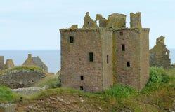 το κάστρο dunnotar Στοκ φωτογραφία με δικαίωμα ελεύθερης χρήσης